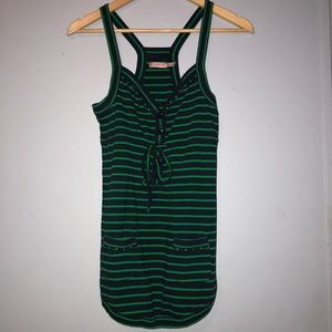 Juicy Couture || Stripped racer back tank
